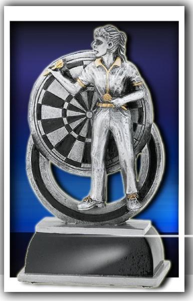 Dart-Trophy Frau FG625 inkl. Gravur