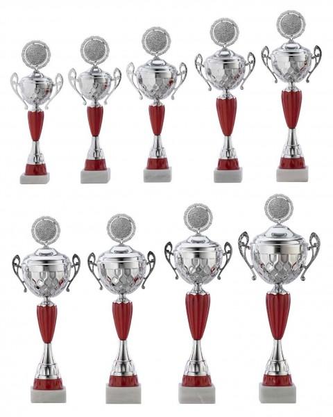 9er-Serie Pokale A4012 inkl. Gravur und Emblem