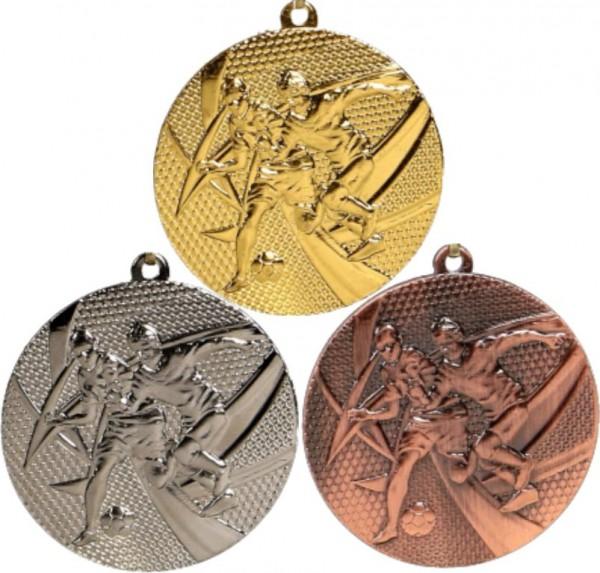 Fußball-Medaille MMC15050 inkl. Band und Beschriftung