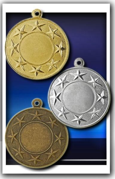 Medaille D24 inkl. inkl. Beschriftung,Emblem und Band