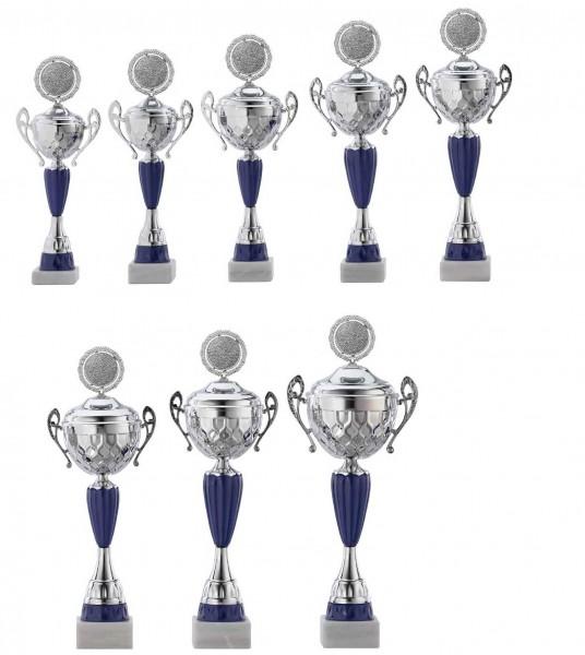 8er-Serie Pokale A4017 inkl. Gravur und Emblem