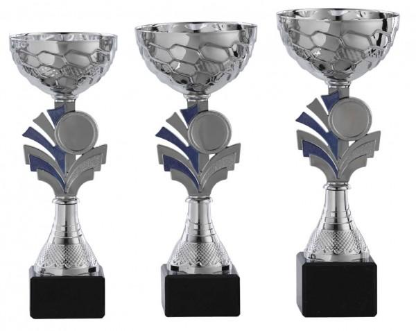 3er-Serie Pokale A1072 inkl. Gravur und Emblem