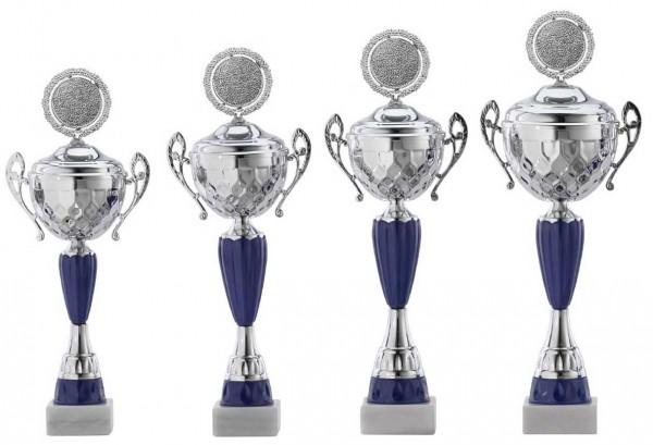 4er-Serie Pokale A4017 inkl. Gravur und Emblem