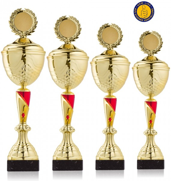 4er Serie Pokal NRW Line Sabrina-GR inkl. Gravur und Emblem