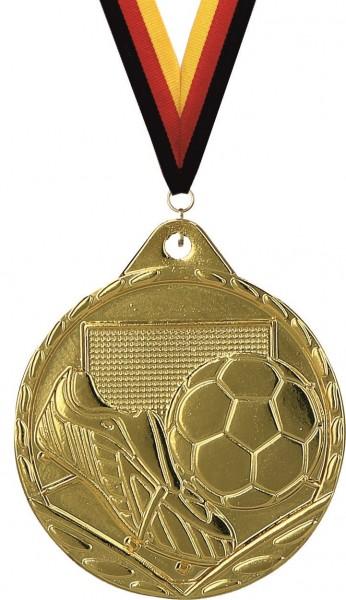 Kleine Fußball-Medaille MMC3032 inkl. Band