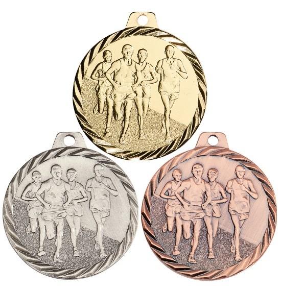 Laufe-Medaille NZ17 inkl. Band und Beschriftung