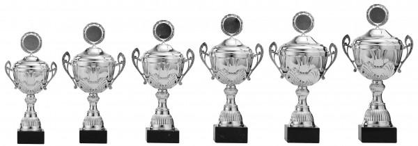 6er-Serie Pokale A4006 inkl. Gravur und Emblem