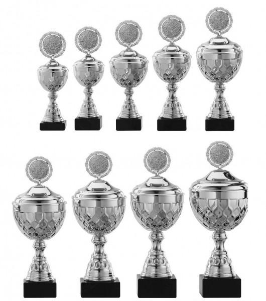 9er-Serie Pokale A4015 inkl. Gravur und Emblem