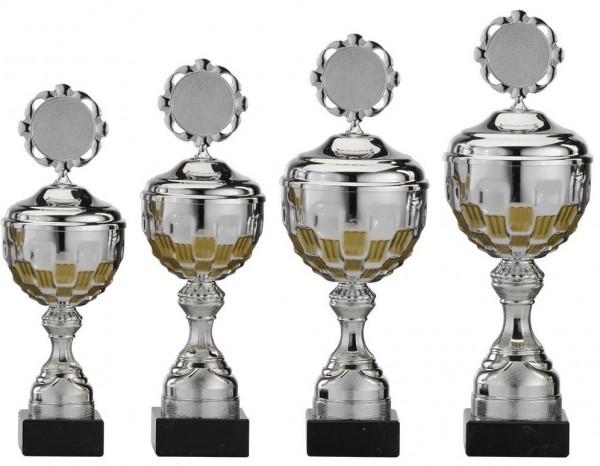 4er-Serie Pokale A4001 inkl. Gravur und Emblem
