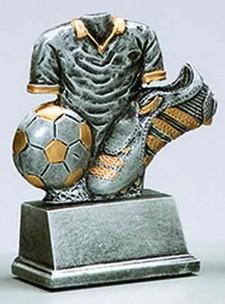 Fußball-Trophäe 35957 inkl. Beschriftung