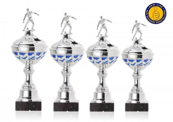 4er-Serie Fußball-Pokale NRW Line Dennis-BS inkl. Gravur