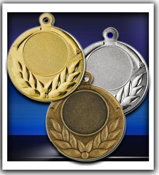 Medaille D23A inkl. inkl. Beschriftung,Emblem und Band