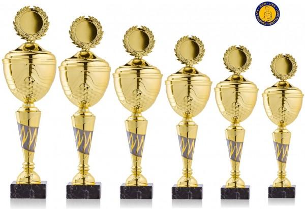 6er-Serie Pokale NRW Line Biggi-GL inkl. Gravur und Emblem