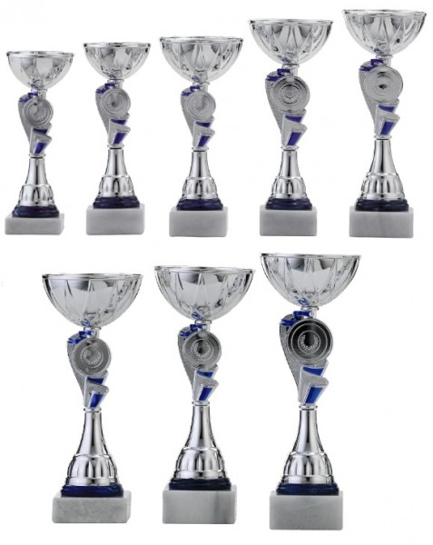 8er-Serie Pokale A4010 inkl. Gravur und Emblem