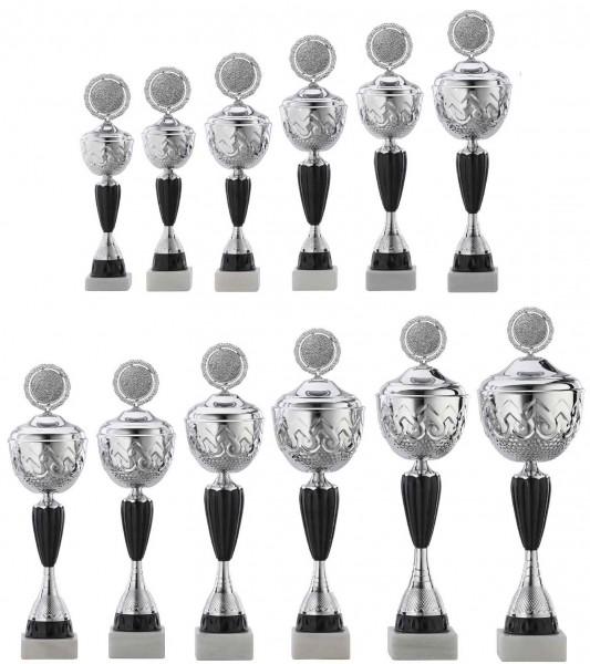 12er-Serie Pokale A4014 inkl. Gravur und Emblem