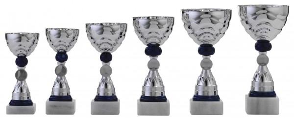 6er-Serie Pokale A1038 inkl. Gravur und Emblem