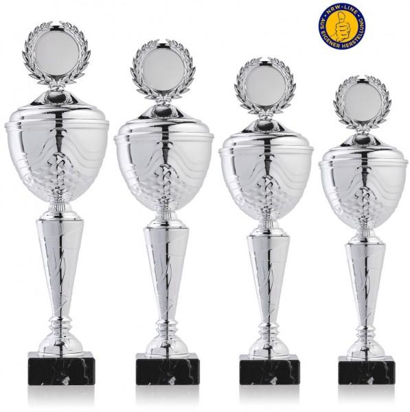 4er-Serie Pokale NRW Line Biggi-Si. inkl. Gravur und Emblem
