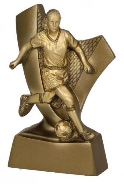 Fußball-Trophäe Beste Spielerin RP4012 inkl. Beschriftung