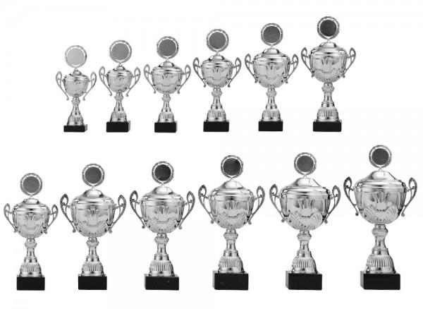 12er-Serie Pokale A4006 inkl. Gravur und Emblem
