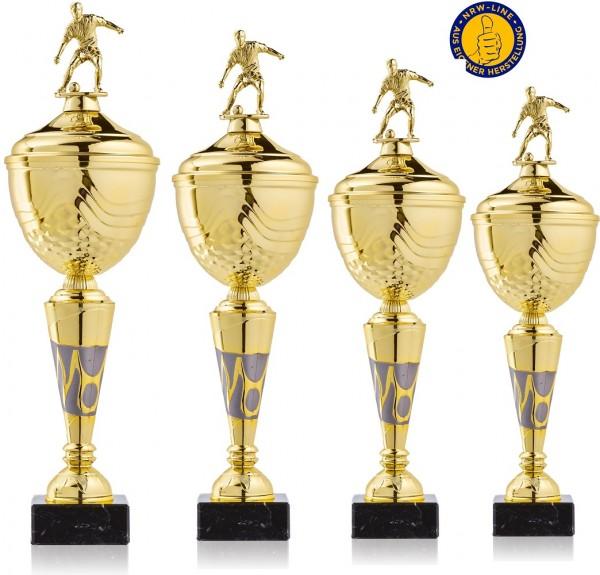 4er-Serie Fußball Pokale NRW Line Biggi-GL inkl. Gravur