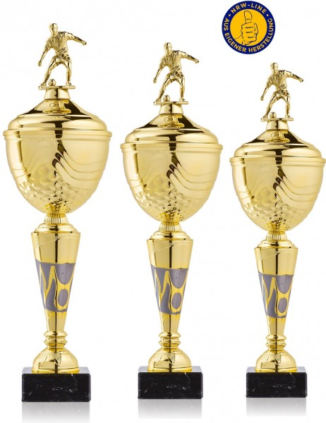 3er-Serie Fußball Pokale NRW Line Biggi-GL inkl. Gravur