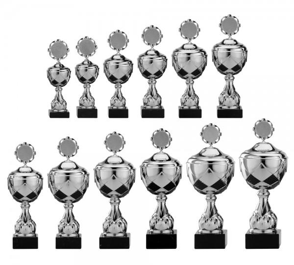 12er-Serie Pokale A4000 inkl. Gravur und Emblem