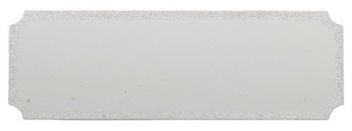 Gravurschild für Medaillen Etuis inkl. Text
