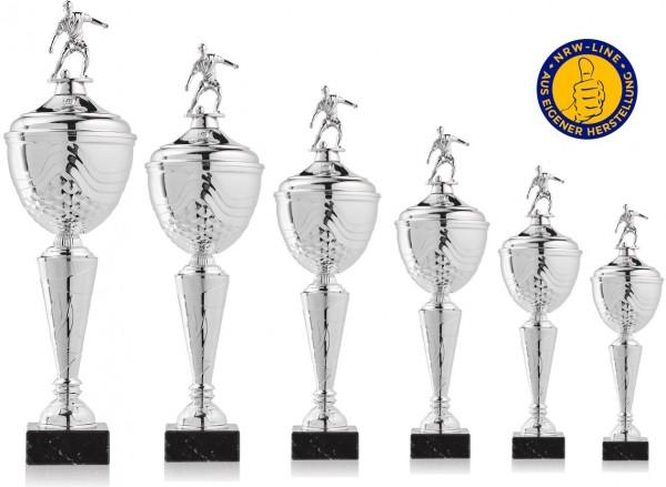 6er-Serie Fußball Pokale NRW Line Biggi-Si. inkl. Gravur