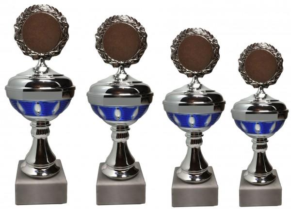 4er-Serie Pokale Pit inkl. Gravur und Emblem