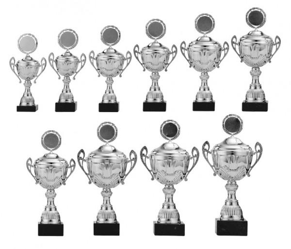 10er-Serie Pokale A4006 inkl. Gravur und Emblem