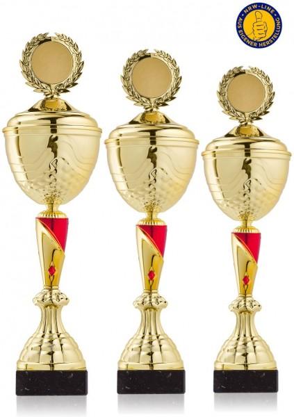 3er Serie Pokal NRW Line Sabrina-GR inkl. Gravur und Emblem