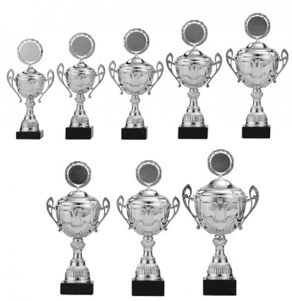 8er-Serie Pokale A4006 inkl. Gravur und Emblem
