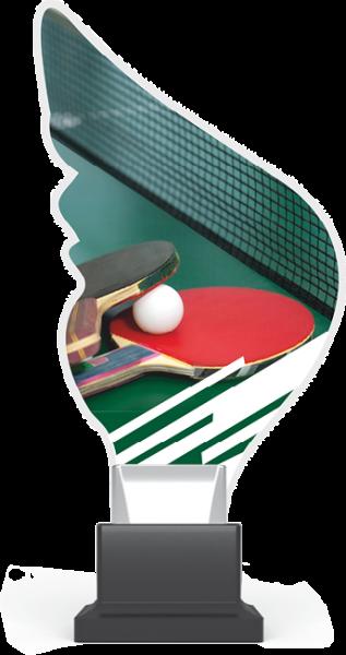 Acryltrophäe Tischtennis inkl. Gravur