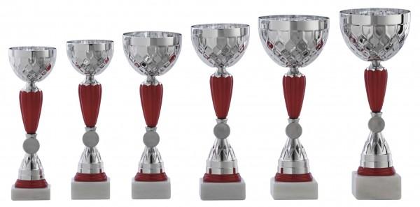 6er-Serie Pokale A1101 inkl. Gravur und Embleme