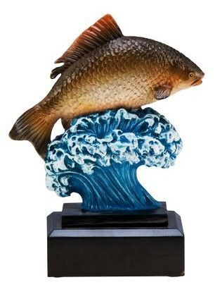 Trophäe Fisch Karpfen RFST2092 inkl.Gravur